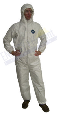 Coverall with hood