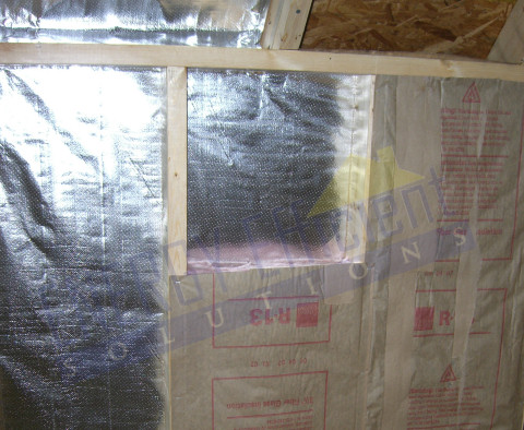 Radiant Barrier Sheathing For Walls Radiant Barrier Wall