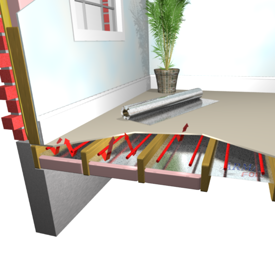How To Install Radiant Barrier In Floor Radiant Heat Flooring - How to install a radiant floor heating system