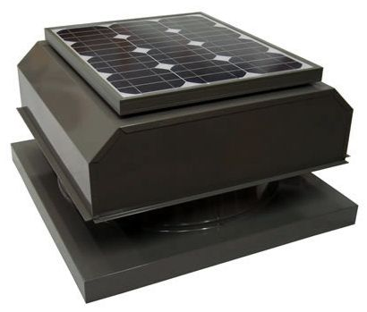 ATTIC BREEZE Solar Powered Attic Fan