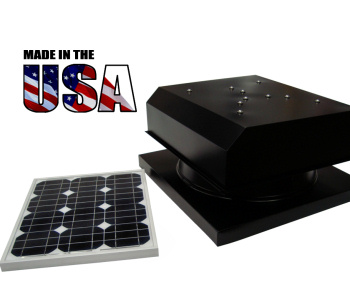 Solar Powered Attic Fan Made in the USA